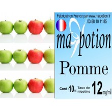 E-Liquide Fruit Pomme, Eliquide Français, recharge liquide pour cigarette électronique, Ecig