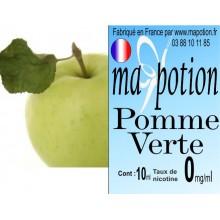 E-Liquide Fruit Pomme Verte, Eliquide Français, recharge liquide pour cigarette électronique, Ecig