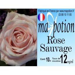 Recharge E-Liquide Saveur Rose sauvage Eliquide Français pour cigarette électronique