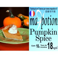 E-Liquide Saveur Pumpkin Spice, Eliquide Français, recharge liquide pour cigarette électronique, Ecig