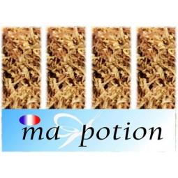 E-Liquide Lot de 4 saveur Tabac, Eliquide Français, recharge liquide pour cigarette électronique, Ecig