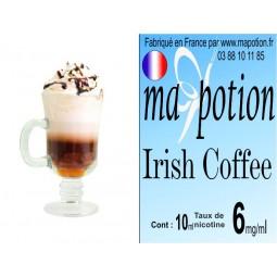 E-Liquide saveur Irish coffee, Eliquide Français, recharge liquide pour cigarette électronique, Ecig