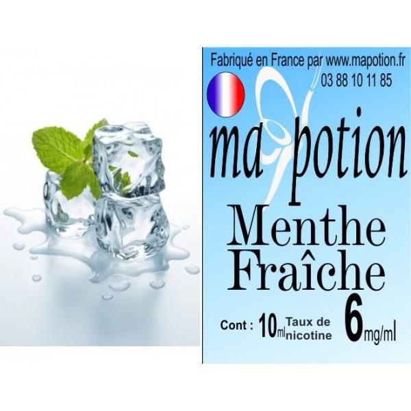 E-Liquide Saveur Menthe Fraîche, Eliquide Français, recharge liquide pour cigarette électronique, Ecig