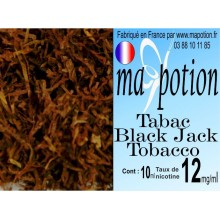E-Liquide TABAC Black Jack, Eliquide Français, recharge liquide pour cigarette électronique, Ecig