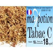 E-Liquide TABAC C, Eliquide Français, recharge liquide pour cigarette électronique, Ecig