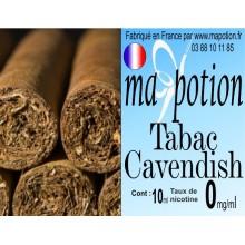 E-Liquide TABAC Cavendish, Eliquide Français, recharge liquide pour cigarette électronique, Ecig