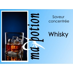 Saveur concentrée Whisky pour fabriquer ses Eliquides maison, E-Liquides DIY Sans nicotine ni tabac