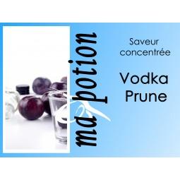 Saveur concentrée Vodka Prune pour fabriquer ses Eliquides maison, E-Liquides DIY Sans nicotine ni tabac