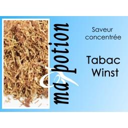 Saveur concentrée TABAC Winst pour fabriquer ses Eliquides maison, E-Liquides DIY Sans nicotine ni tabac