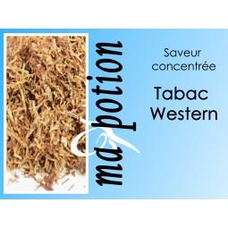 Saveur concentrée TABAC Western pour fabriquer ses Eliquides maison, E-Liquides DIY Sans nicotine ni tabac