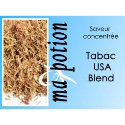 Saveur concentrée TABAC USA Blend pour fabriquer ses Eliquides maison, E-Liquides DIY Sans nicotine ni tabac