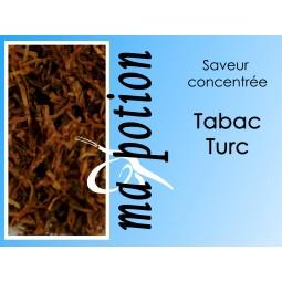 Saveur concentrée TABAC Turc pour fabriquer ses Eliquides maison, E-Liquides DIY Sans nicotine ni tabac