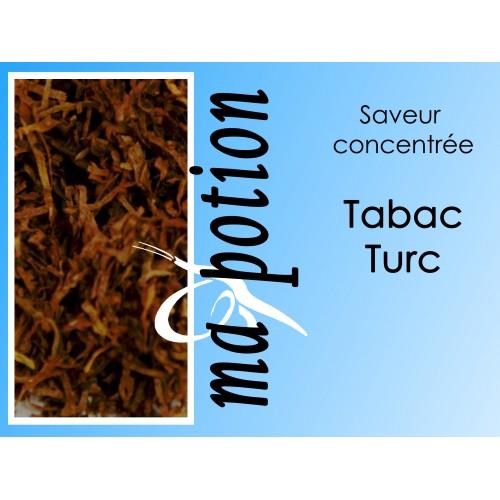 Saveur concentrée TABAC Turc pour fabriquer ses Eliquides maison, E-Liquides DIY