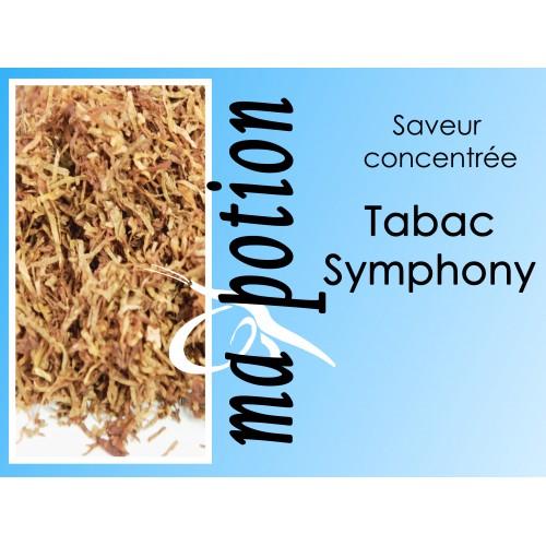 Saveur concentrée TABAC Symphony pour fabriquer ses Eliquides maison, E-Liquides DIY