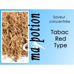Saveur concentrée TABAC Red Type pour fabriquer ses Eliquides maison, E-Liquides DIY Sans nicotine ni tabac