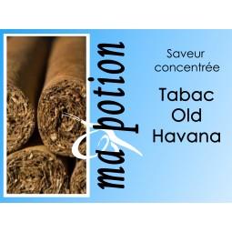 Saveur concentrée TABAC Old Havana pour fabriquer ses Eliquides maison, E-Liquides DIY