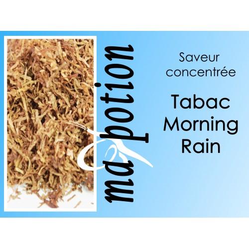 Saveur concentrée TABAC Morning Rain pour fabriquer ses Eliquides maison, E-Liquides DIY