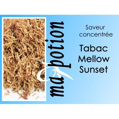 Saveur concentrée TABAC Mellow Sunset pour fabriquer ses Eliquides maison, E-Liquides DIY