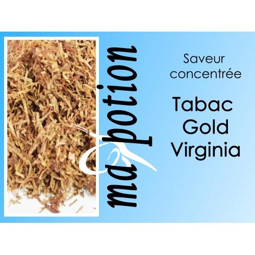 Saveur concentrée TABAC Gold Virginia pour fabriquer ses Eliquides maison, E-Liquides DIY