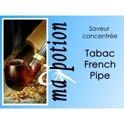 Saveur concentrée TABAC French Pipe pour fabriquer ses Eliquides maison, E-Liquides DIY Sans nicotine ni tabac