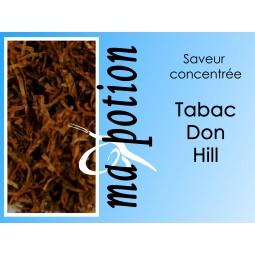 Saveur concentrée TABAC Don-Hill pour fabriquer ses Eliquides maison, E-Liquides DIY Sans nicotine ni tabac