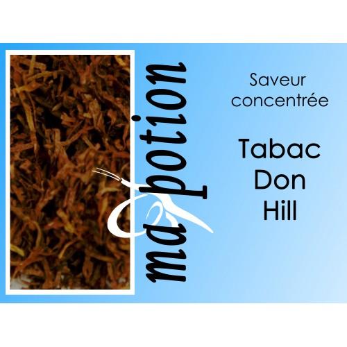 Saveur concentrée TABAC Don-Hill pour fabriquer ses Eliquides maison, E-Liquides DIY