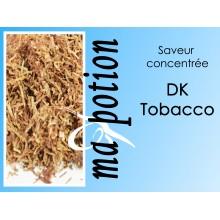 Saveur concentrée TABAC DK Tobacco pour fabriquer ses Eliquides maison, E-Liquides DIY