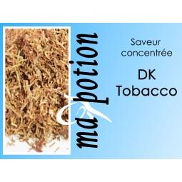 Saveur concentrée TABAC DK Tobacco pour fabriquer ses Eliquides maison, E-Liquides DIY Sans nicotine ni tabac