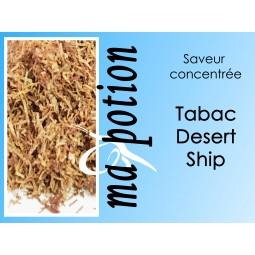 Saveur concentrée TABAC Desert Ship pour fabriquer ses Eliquides maison, E-Liquides DIY Sans nicotine ni tabac