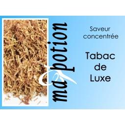 Saveur concentrée TABAC de Luxe pour fabriquer ses Eliquides maison, E-Liquides DIY Sans nicotine ni tabac