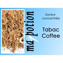 Saveur concentrée TABAC Coffee pour fabriquer ses Eliquides maison, E-Liquides DIY Sans nicotine ni tabac