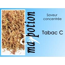 Saveur concentrée TABAC C pour fabriquer ses Eliquides maison, E-Liquides DIY Sans nicotine ni tabac
