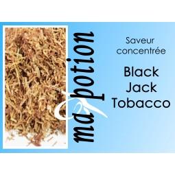 Saveur concentrée TABAC Black Jack, pour fabriquer ses Eliquides maison, E-Liquides DIY Sans nicotine ni tabac
