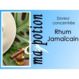 Saveur concentrée Rhum Jamaïcain pour fabriquer ses Eliquides maison, E-Liquides DIY Sans nicotine ni tabac