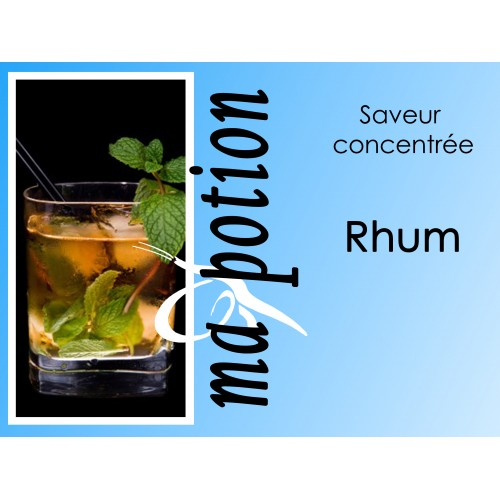 Saveur concentrée Rhum pour fabriquer ses Eliquides maison, E-Liquides DIY