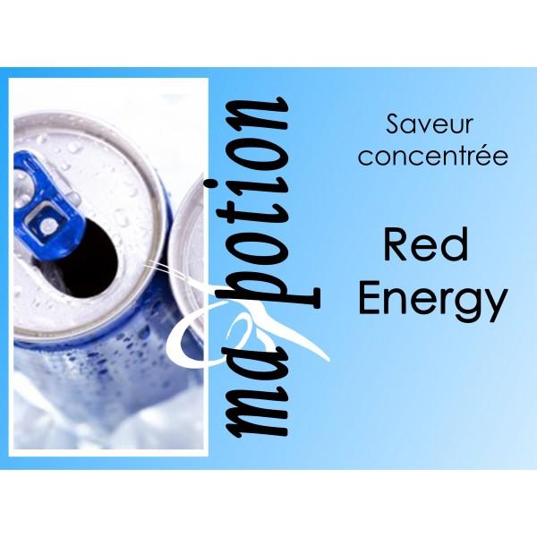 Saveur concentrée Red Energy pour fabriquer ses Eliquides maison, E-Liquides DIY