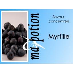 Saveur concentrée Myrtille pour fabriquer ses Eliquides maison, E-Liquides DIY Sans nicotine ni tabac