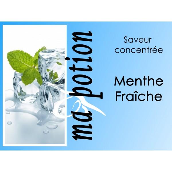 Saveur concentrée Menthe Fraîche pour fabriquer ses Eliquides maison, E-Liquides DIY