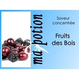 Saveur concentrée Fruits des Bois pour fabriquer ses Eliquides maison, E-Liquides DIY