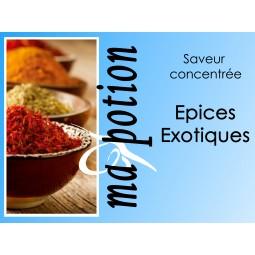 Saveur concentrée Epices exotiques pour fabriquer ses Eliquides maison, E-Liquides DIY Sans nicotine ni tabac