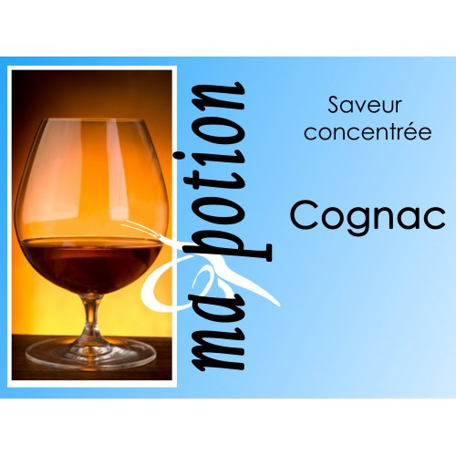 Saveur concentrée Cognac pour fabriquer ses Eliquides maison, E-Liquides DIY