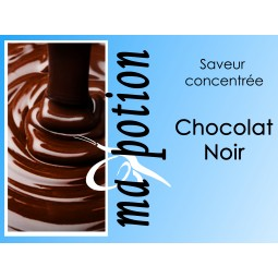 Saveur concentrée Chocolat Noir pour fabriquer ses Eliquides maison, E-Liquides DIY Sans nicotine ni tabac
