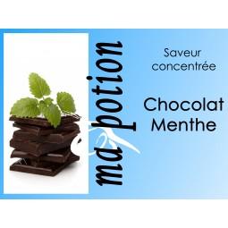 Saveur concentrée Chocolat Menthe pour fabriquer ses Eliquides maison, E-Liquides DIY Sans nicotine ni tabac