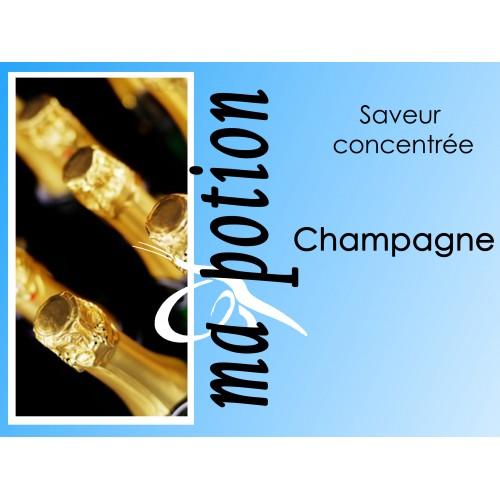 Saveur concentrée Champagne pour fabriquer ses Eliquides maison, E-Liquides DIY