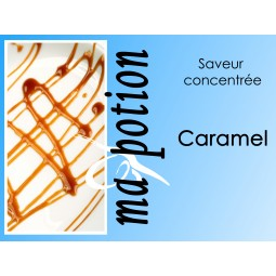 Saveur concentrée Caramel pour fabriquer ses Eliquides maison, E-Liquides DIY Sans nicotine ni tabac