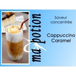 Saveur concentrée Cappuccino Caramel, pour fabriquer ses Eliquides maison, E-Liquides DIY Sans nicotine ni tabac
