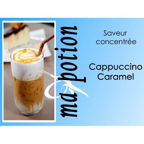 Saveur concentrée Cappuccino Caramel, pour fabriquer ses Eliquides maison, E-Liquides DIY