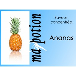 Saveur concentrée Ananas pour fabriquer ses Eliquides maison, E-Liquides DIY Sans nicotine ni tabac