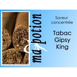 Saveur concentrée TABAC Gipsy King pour fabriquer ses Eliquides maison, E-Liquides DIY Sans nicotine ni tabac