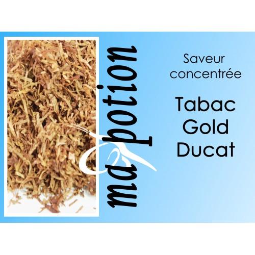 Saveur concentrée TABAC Gold Ducat pour fabriquer ses Eliquides maison, E-Liquides DIY